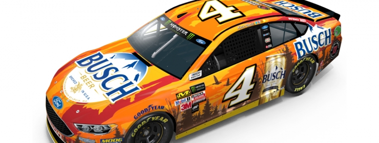 Ford Fusion Colors >> Kevin Harvick No. 4 Busch Outdoors Ford Event Preview ...