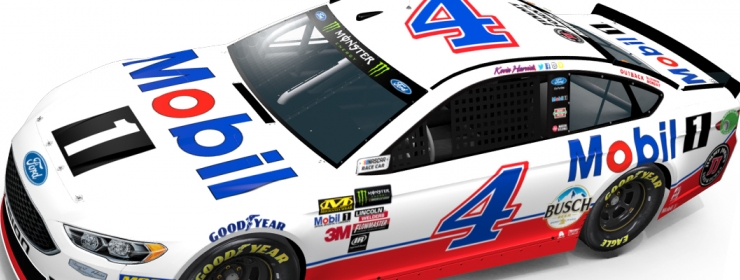 Kevin Harvick No 4 Mobil 1 Ford Event Preview Charlotte