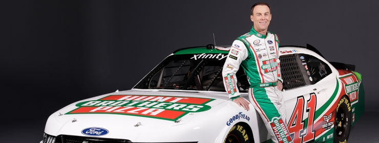Hunt Brothers® Pizza Expands Partnership with Stewart-Haas Racing | Kevin Harvick
